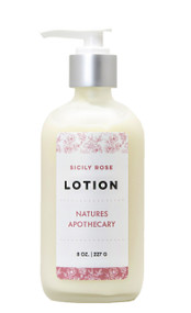 Sicily Rose Luxury Lotion - Nature's apothecary DAYSPA Body Basics