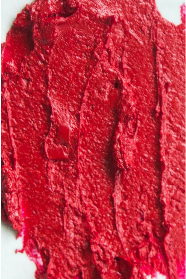 Aromi Jacqueminot Lipstick Swatch - True Red