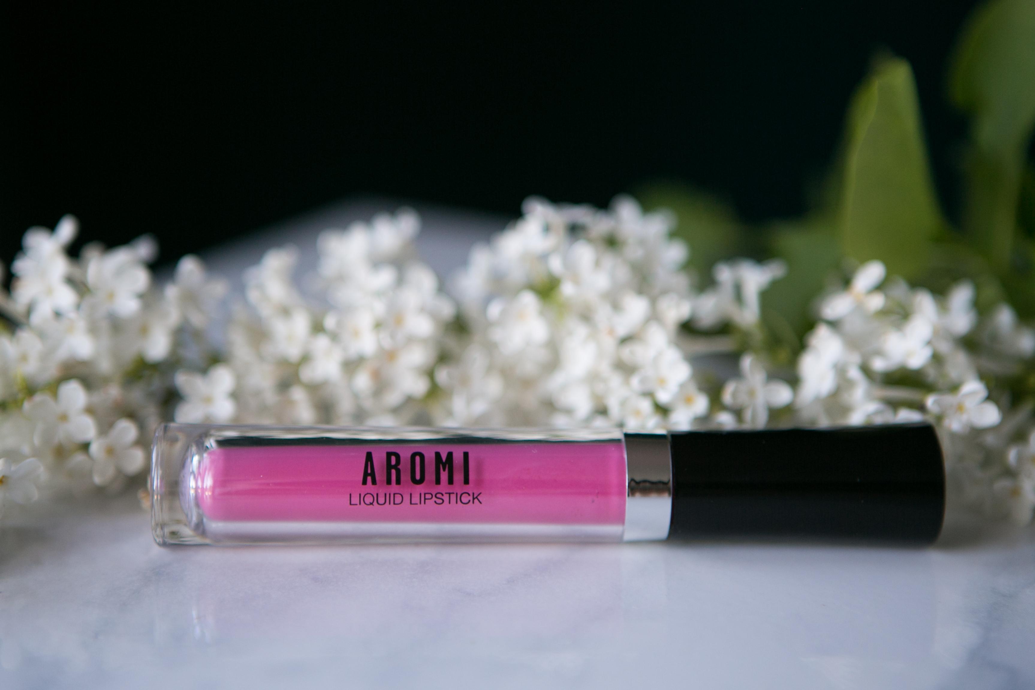 Cherry Blossom Liquid to Matte Lipstick