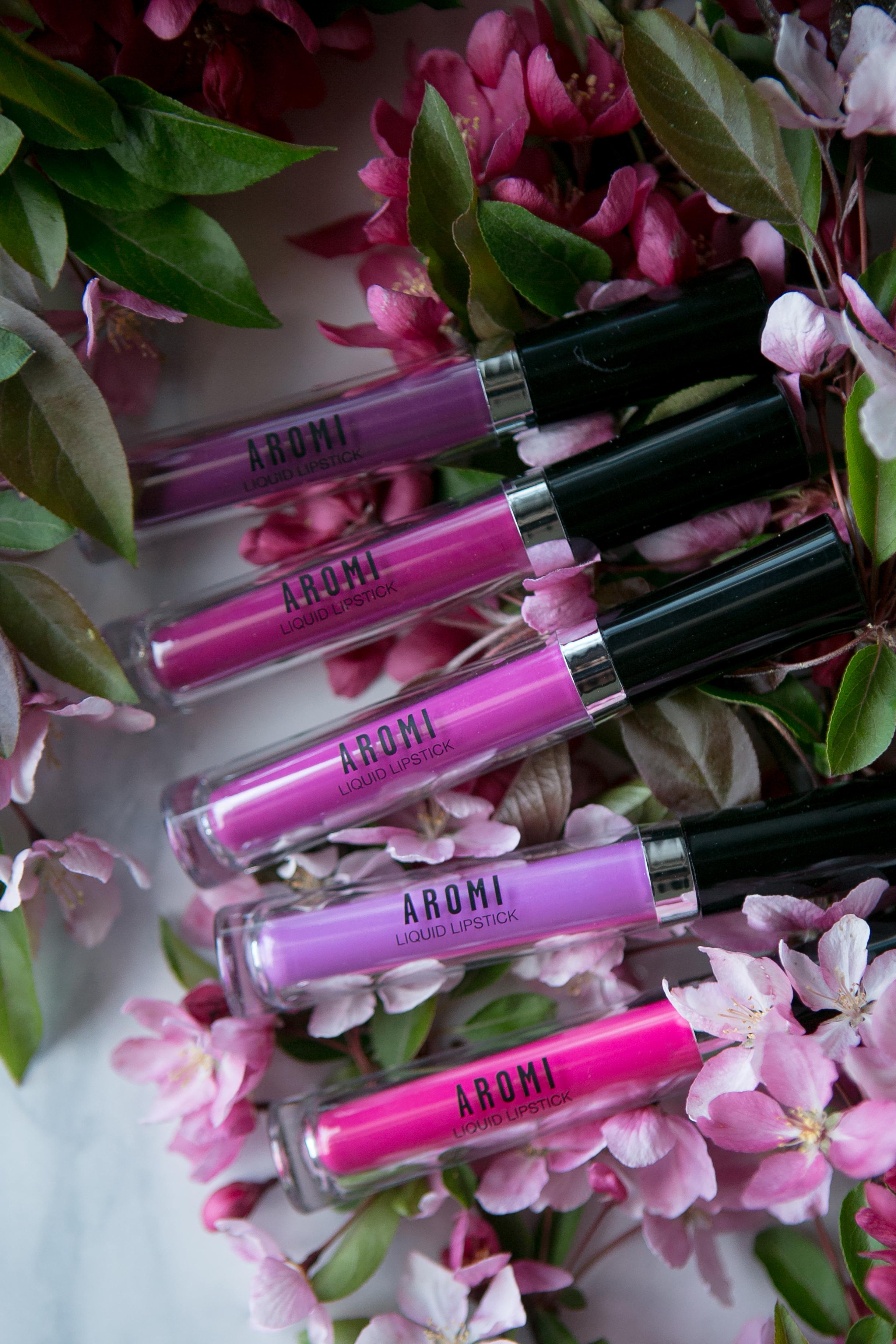 Summer Liquid to Matte Lipsticks