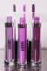 Aromi purple liquid lipstick shades vegan + cruelty-free lipstick