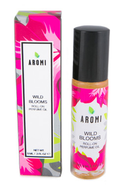 Wild Blooms Roll-on Perfume Oil small batch, artisan fragrance