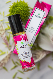 wild blooms roll-on perfume oil vegan + cruelty-free