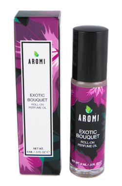 exotic bouquet roll-on perfume oil small batch, handcrafted artisan fragrance