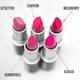 Aromi pink lipsticks
