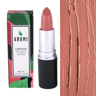 Rosy Nude Lipstick |  vegan + cruelty-free