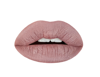 desert taupe liquid lipstick swatch