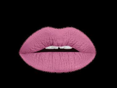 miss mauve liquid lipstick  lip swatch