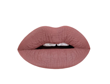 sepia brown lip swatch