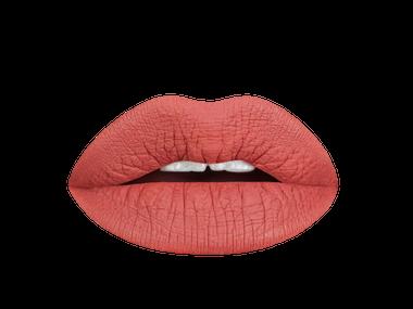 terra cotta liquid lipstick swatch