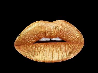 gold digger metallic lipstick