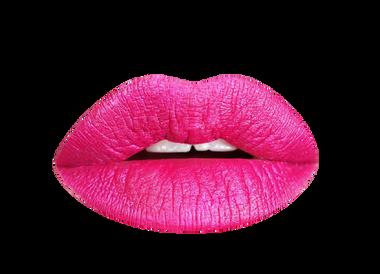 fab flamingo metallic liquid lipstick bright pink shade