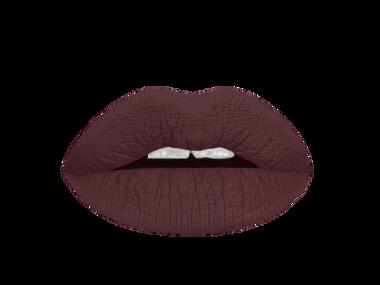 dark espresso liquid lipstick swatch
