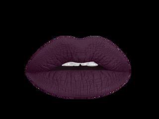gothic plum liquid lipstick swatch
