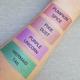 metallic liquid-to-matte lipstick swatches
