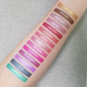 metallic lipstick swatches