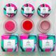 Aromi glossy lip tints vegan + cruelty-free