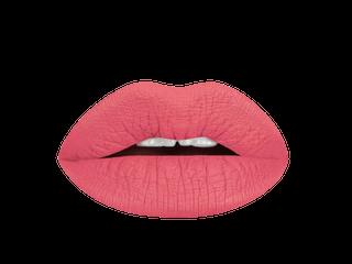 Aromi  mango tango liquid lipstick swatch