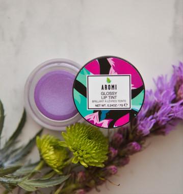 vegan + cruelty-free lilac metallic tint