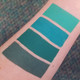 green liquid lipstick bundle lip swatches  small batch