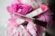 poodle skirt - pink mauve lipstick