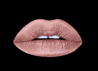 brown sugar metallic liquid lipstick vegan + cruelty-free handmade