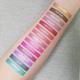Aromi metallic liquid lipstick swatches
