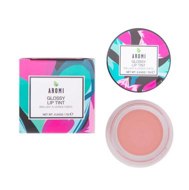 Aromi Peach Nude Glossy Lip Tint