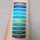 Aromi Blue & Green Shades on Light Skin