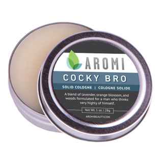 Aromi Cocky Bro solid cologne