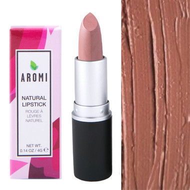 iced coffee natural lipstick vegan, cruelty-free, natural