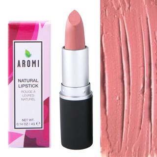 naked pink natural lipstick |  vegan + cruelty-free