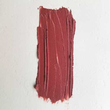 Rose Burgundy natural lipstick |  vegan + cruelty-free