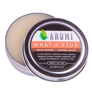 aromi what a stud solid cologne