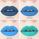 blue liquid lipstick swatches handcrafted gluten-free