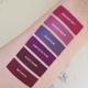 New plum and fuchsia liquid lipstick shades