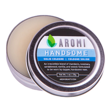 Handsome Solid Cologne vegan + cruelty-free handmade