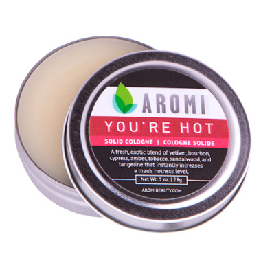 you're hot solid cologne