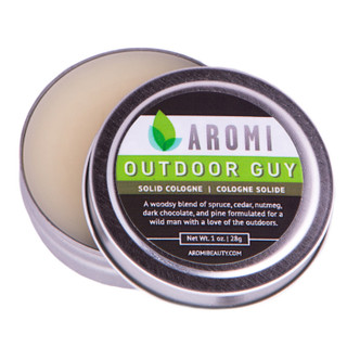 aromi  outdoor guy  solid cologne