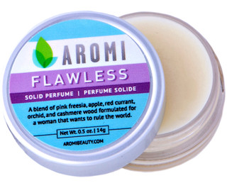 aromi flawless solid perfume