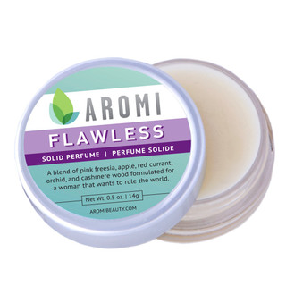 Flawless solid perfume