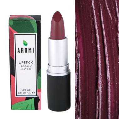 Aromi Merlot Lipstick | semi-sheer plum