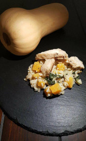 Chicken, Butternut Squash and Spinach Risotto