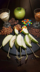 DIY Candy Apple Station