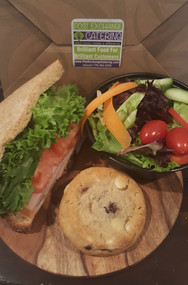 Half Sandwich and Petite Garden Salad Box