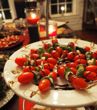 Holiday Hors D'Oeuvres Reception