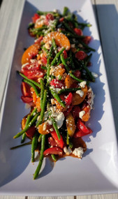 Summer Grilled Peach Salad