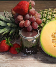 Fruit Platter w/ Pina Colada Dip