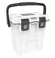 """Pelican holds themselves to higher criteria than other cooler makers. When it comes to durability, performance and ergonomic design, just """"good enough"""" doesn't cut it. As a result, Pelican Elite Coolers perform to higher standards better than any cold locker, tougher than any icebox. Pelican Elite Coolers are true next-generation innovations, created to last a lifetime. From the latches to the freezer-grade seal to the toughest handles in the business, every part is engineered to our extreme durability and performance standards. Which is why we feel confident in providing you with a Lifetime Guarantee. Not three years. Not five years. A lifetime. Something the other makers don't (or can't) do. Whether you're on the hunt of a lifetime, far out at sea with a cooler full of catch, crossing deserts on safari or simply tailgating during a big game the Pelican Elite Cooler is the one for you.  Specifications:  INTERIOR: 12.00 x 6.70 x 14.10 (30.5 x 17 x 35.8 cm) EXTERIOR: 18.80 x 12.60 x 17.70 (47.8 x 32 x 45 cm) VOLUME: 21.50QT (20.35 liters) INT VOLUME: 0.66 ft³ (0.019 m³) INSULATION THICKNESS: 0.78 (2 cm) WEIGHT: 12.52 lbs (5.7 kg)"""