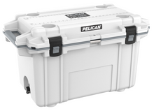 "Pelican holds themselves to higher criteria than other cooler makers. When it comes to durability, performance and ergonomic design, just ""good enough"" doesn't cut it. As a result, Pelican Elite Coolers perform to higher standards better than any cold locker, tougher than any icebox. Pelican Elite Coolers are true next-generation innovations, created to last a lifetime. From the latches to the freezer-grade seal to the toughest handles in the business, every part is engineered to our extreme durability and performance standards. Which is why we feel confident in providing you with a Lifetime Guarantee. Not three years. Not five years. A lifetime. Something the other makers don't (or can't) do. Whether you're on the hunt of a lifetime, far out at sea with a cooler full of catch, crossing deserts on safari or simply tailgating during a big game the Pelican Elite Cooler is the one for you.  Specifications:  INTERIOR: 23.50 x 11.00 x 14.30 (59.7 x 27.9 x 36.3 cm) EXTERIOR: 36.00 x 20.30 x 21.00 (91.4 x 51.6 x 53.3 cm) VOLUME: 72.42QT (68.53 liters) INT VOLUME: 2.14 ft³ (0.061 m³) INSULATION THICKNESS: 2.00 (5.1 cm) WEIGHT: 33.29 lbs (15.1 kg)ype a description for this product here..."